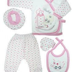 Set Little Baby in cutie pentru bebelusi HB357, Marime: 1-3 luni