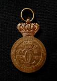 Medalie Carol I - Intemeietorul dinastiei si regatului roman - 1939