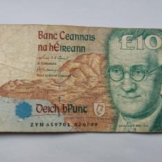 Irlanda 10 pounds 1999 - bancnota europa