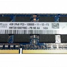 Ram laptop Hynix 4GB 12800 DDR3 1600Mhz HMT351S6EFR8A-PB PC3 1.5V Sodimm - Memorie RAM laptop