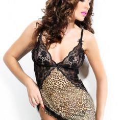 Set Sexy Monique Leopard - Set lenjerie sexy