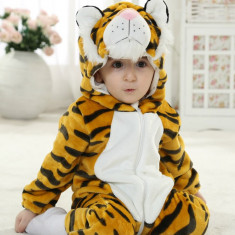 Combinezon bebe model tigru, Marime: 1-2 ani