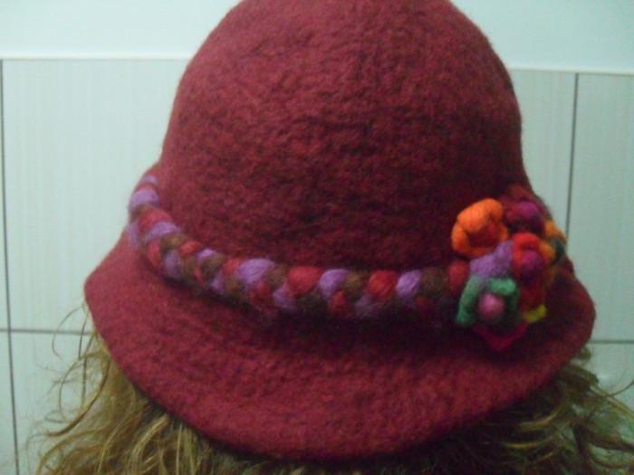 Pălărie dama lână Nepal foto mare