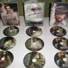 Narcos 2015  Serial TV  3 sezoane DVD