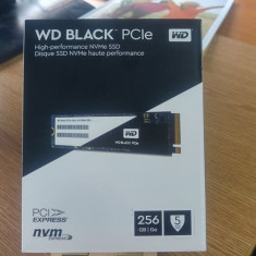 SSD Western Digital WD Black 256GB PCI Express 3.0 x4 M.2 2280