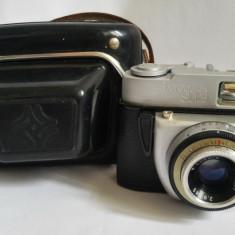 Aparat foto Beroquick SL 125 vintage, Germany, cu obiectiv E. Ludwig Meritar