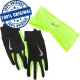 Set bandana si manusi Nike Thermal pentru barbati - manusi iarna - alergare - Manusi Barbati Nike, Marime: L, Culoare: Din imagine