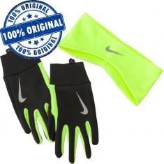 Set bandana si manusi Nike Thermal pentru barbati - manusi iarna - alergare - Manusi Barbati Nike, Marime: M, L, Culoare: Din imagine