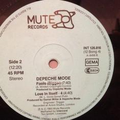 DEPECHE MODE - LOVE IN ITSELF 3, 4/FOOLS - Maxi '12(1983/MUTE/RFG) - Vinil/Analog - Muzica Pop Intercord