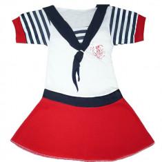 Rochita pentru fete stil marinar HF312