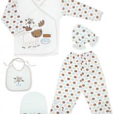Set cadou in cutie pentru bebelusi HB376, Marime: 1-3 luni