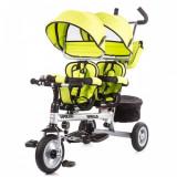 Tricicleta gemeni Apollo Lime Chipolino - Tricicleta copii