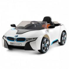 Masinuta electrica BMW I8 Concept White Chipolino - Masinuta electrica copii