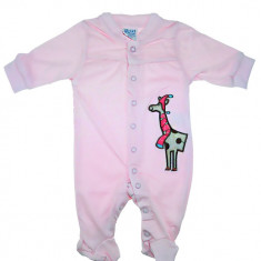 Salopeta roz Carters pentru bebelusi HB325, Marime: 9-12 luni