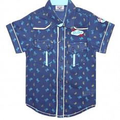 Camasa bleumarin de vara pentru baieti HBT49