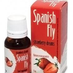 Picaturi Afrodisiace Cupluri Spanish Fly Capsuni 15 ml - Stimulente sexuale