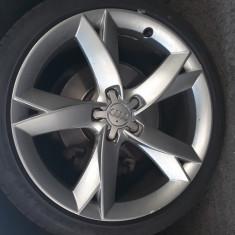 Jante Audi pe 19 + 4 cauciucuri vara noi, 5