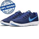 Pantofi sport Nike Lunartempo 2 pentru barbati - adidasi originali, 41, 42, Albastru, Textil