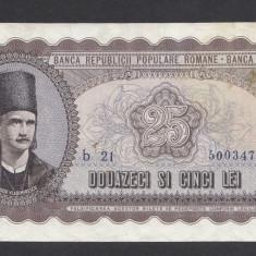 25 lei 1952 3 - Bancnota romaneasca