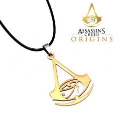 LANT pandantiv lantisor MEDALION Assassins Creed ORIGINS Logo Assassin's Creed