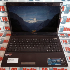 Laptop Asus X53B AMD 1.7GHz RAM 4 GB HDD 1 TB Radeon 7470M 1GB Wi-Fi WebCam, AMD E2, Diagonala ecran: 15