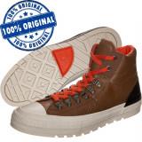 Pantofi sport Converse Chuck Taylor Street Hiker pentru barbati - originali, 40 - 42, 42.5, 43, Maro, Piele naturala