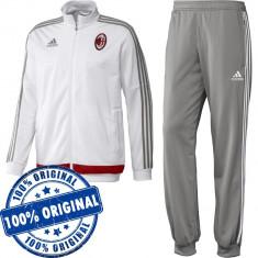 Trening Adidas AC Milan pentru barbati - trening original - treninguri originale - Trening barbati Adidas, Marime: XS, S, Culoare: Din imagine, Poliester
