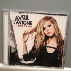 AVRIL LAVIGNE - WHAT THE HELL - single (2011/ RCA /UK) - CD ORIGINAL/Ca Nou - Muzica Pop sony music