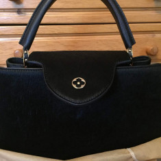 Vand Geanta medie Louis Vuitton - Originala - Geanta Dama Louis Vuitton, Culoare: Negru