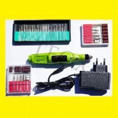Pila Freza Electrica Unghii+42 Capuri Pentru Freza - Pila unghii