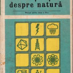 Cunoștințe despre natură - Curs diverse stiinte