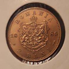 2 bani 1880 detalii de exceptie - Moneda Romania