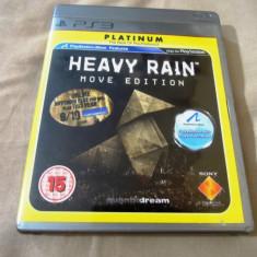 Joc Heavy Rain, PS3, original, alte sute de jocuri! - Jocuri PS3 Sony, Actiune, 16+, Single player