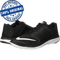 Pantofi sport Nike FS Lite Run 3 pentru barbati - adidasi originali, 40, 40.5, Negru, Textil