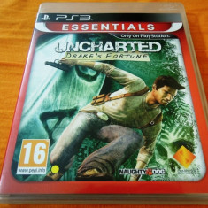 Joc Uncharted Drake's Fortune, exclusiv PS3, alte sute de jocuri! - Jocuri PS3 Sony, Actiune, 16+, Single player