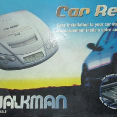 SONY D-E206CK - CD-player portabil / auto, cu adaptor pentru caseta audio, 0-40 W