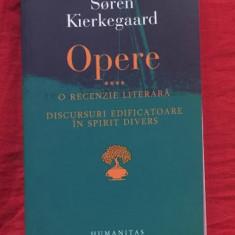 S. Kierkegaard OPERE vol. 4 O recenzie literara * Discursuri edificatoare