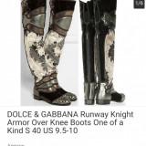Cizme Dolce & Gabbana originale - Cizma dama Dolce & Gabbana, Culoare: Din imagine, Marime: 38