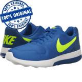 Pantofi sport Nike MD Runner 2 pentru barbati - adidasi originali, 40, 40.5, 41, 42, 42.5, 44, 44.5, Albastru, Textil