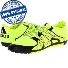 Pantofi sport Adidas X 15.3 pentru barbati - adidasi originali - teren sintetic - Ghete fotbal Adidas, Marime: 42, Culoare: Verde, Teren sintetic: 1
