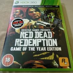 Red Dead Redemption GOTY, XBOX360, original, alte sute de jocuri! - Jocuri Xbox 360, Actiune, 18+, Single player
