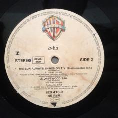 A-HA - THE SUN ALWAYS SHINES/DRIFTWOOD - Maxi '12(1985/WARNER/RFG) -Vinil/Analog