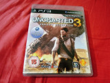 Joc Uncharted 3 Drake's Deception, exclusiv PS3, alte sute de jocuri!, Actiune, 16+, Single player, Sony