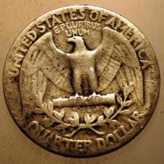 2.223 USA SUA WASHINGTON QUARTER DOLLAR 1940 ARGINT 6, 1g, America de Nord