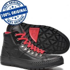 Pantofi sport Converse Chuck Taylor Street Hiker pentru barbati - originali - Adidasi barbati Converse, Marime: 40, 43, 44.5, Culoare: Negru, Piele naturala