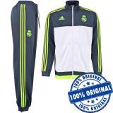 Trening Adidas Real Madrid pentru barbati - original - treninguri barbati - Trening barbati Adidas, Marime: S, Culoare: Din imagine, Poliester