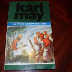 KARL MAY - IN TARA SCHIPETARILOR * - Carte de aventura
