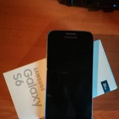 Samsung Galaxy S6 - Telefon mobil Samsung Galaxy S6, Negru, 32GB, Orange