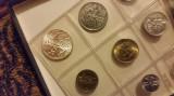Set 9 monede unc - San Marino 1978 meserii - moneda cea mai mare este din argint, Europa