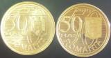 Lot / Set Monede 50 Bani - ROMANIA, anul 2010   *cod 4734  VARIANTE UNC + PROOF!
